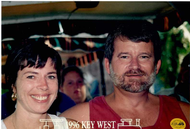 Jerry and Jackie-1996 - relaxing in Key West